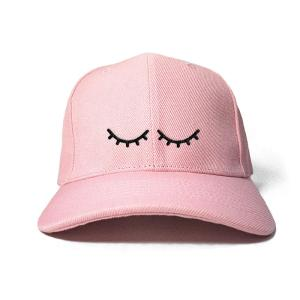 I'm Sleeping in Baby Pink Embroidered Cap, Custom our iTee template and make it yours. Product View