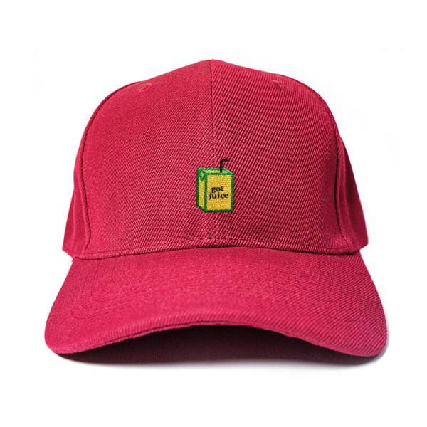 Got Juice? in Wine Red Embroidered Cap, Custom our iTee template and make it yours. Product View