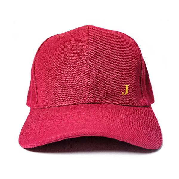 Create your initial in Wine Red Embroidered Cap, Custom our iTee template and make it yours. Product View