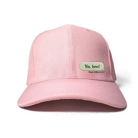 My Message Embroidered Cap
