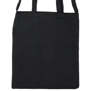 Custom your Black Versatile Tote-Bag Freesize, Zoom Front View