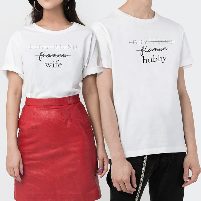 My Position Couple T-shirt (2pcs)