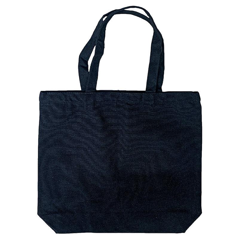 Black Flat Bottom Tote-bag