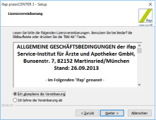 ifap Praxiscenter Installation 3