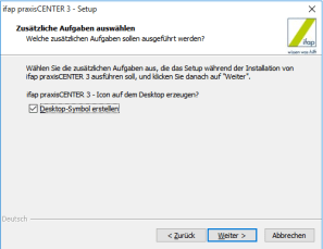 ifap Praxiscenter Installation 6