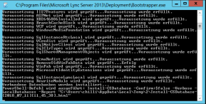 Lync Server 2013 Cumulative Update 8