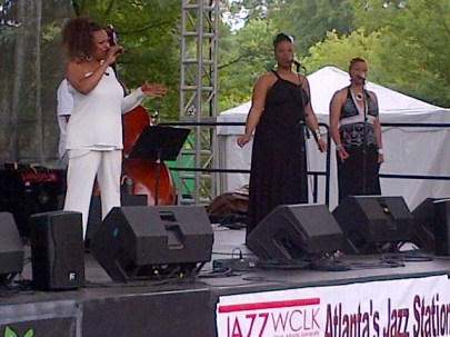 KEMBA COFIELD and Background Singers