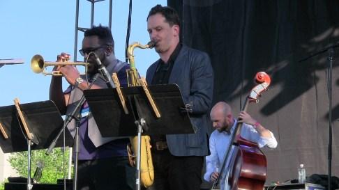 Otis Brown trumper and sax