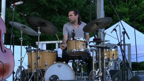 Alfredo Rodriguez Trio drummer