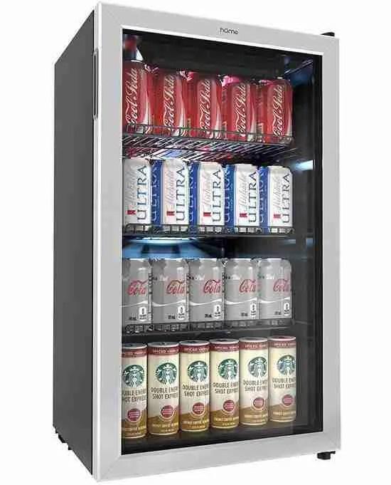 hOmelabs 120 can mini fridge