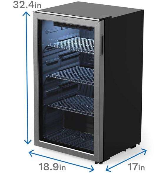 hOmelabs mini fridge