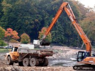 CLICK ON DREDGING PHOTO TO SEE ACTION VIDEO