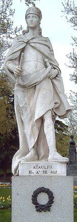 414 Ο Ataulf βασιλιάς της Narbonne παντρεύεται την αδελφή του αυτοκράτορα Ονορίου Γάλα Πλακιδία.