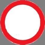 Closed to all vehicle including hand carts (one way road)