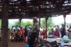 asamblea en comunidad guarijía