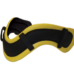 breast collar deluxe yellow