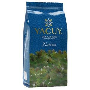 Erva Mate Yacuy Nativa 1kg Caixa com 10 unidades