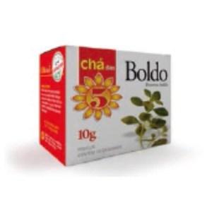 Chá das 5 – Boldo – Mate Laranjeiras 10g
