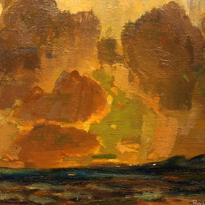Ralph Meyers-Chimayo Trading del Norte-Historic-Paintings