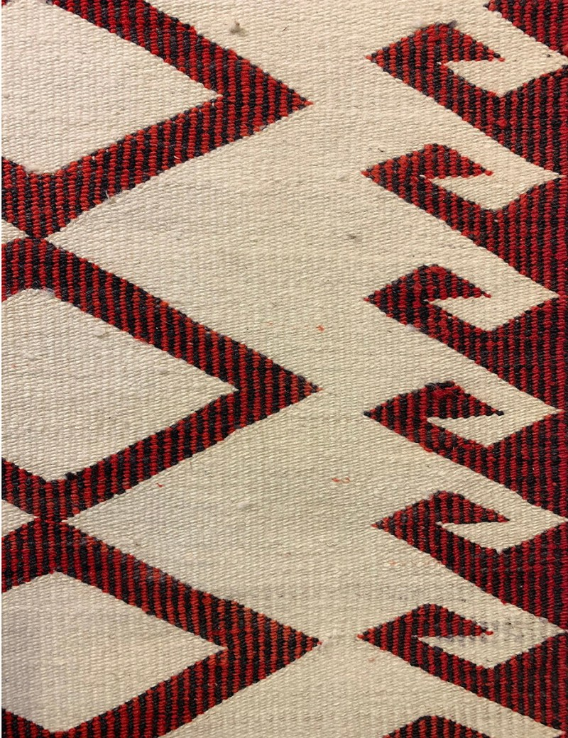 """1930s Double Saddle Blanket"""