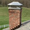 chimney with a chimney cap
