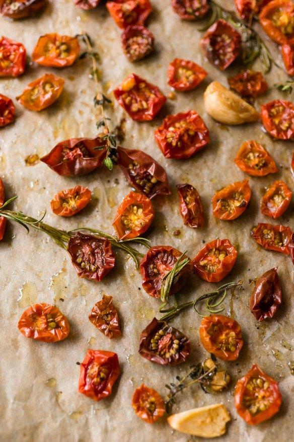 Roasted Cherry Tomatoes | Minimally Invasive