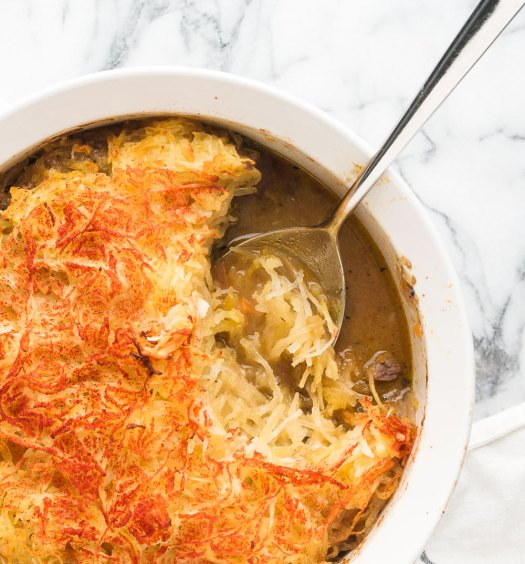 Paleo Shepherd's Pie Detail | Minimally Invasive