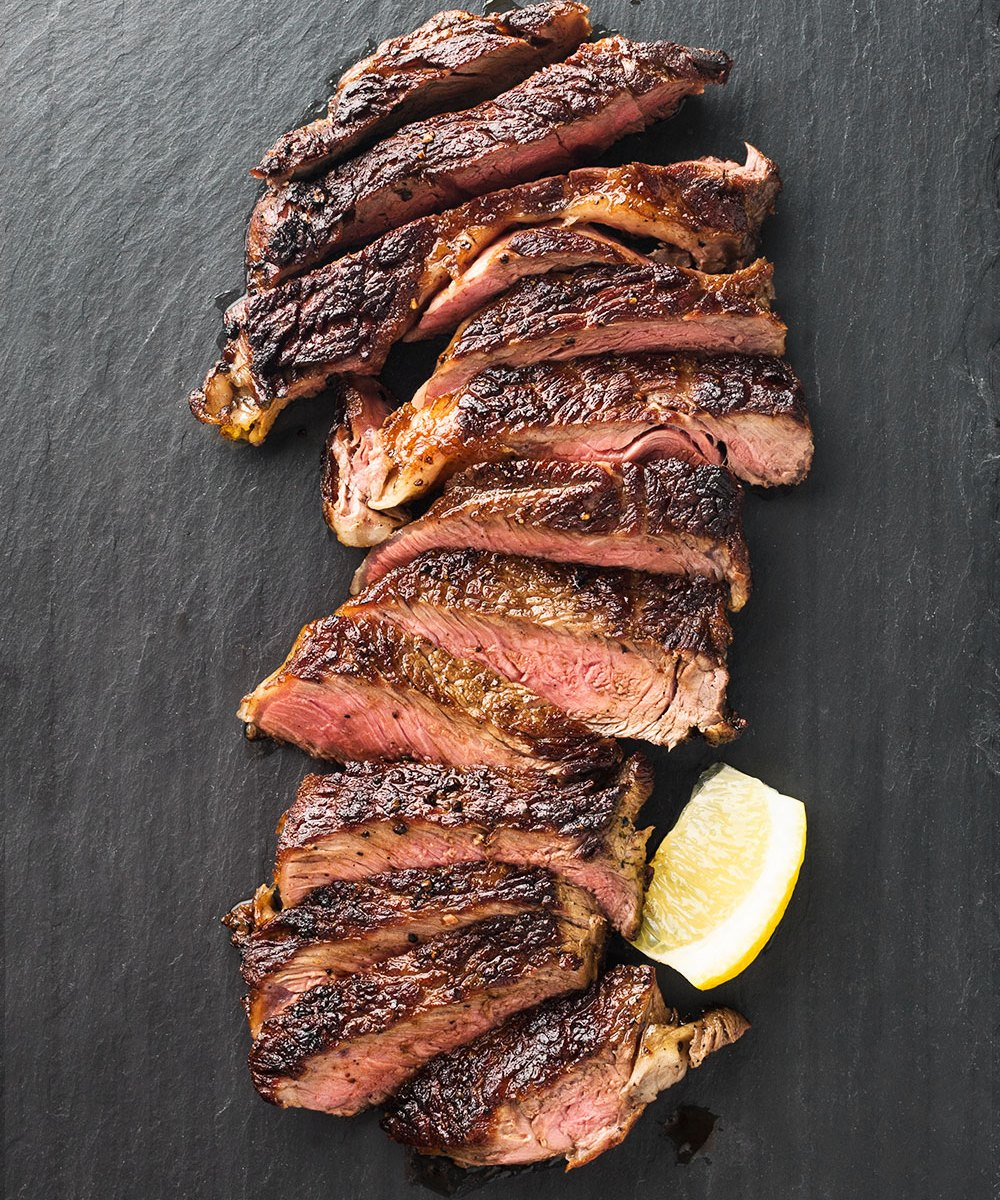 Cast Iron Ribeye Steak | Amy Roth Photo