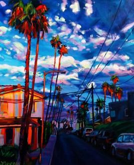 'Orange Palms'