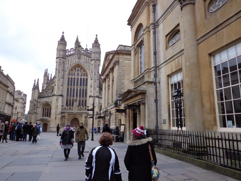 Mother's Day trip to Bath