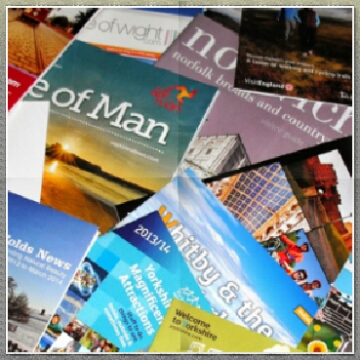 What to do with travel guides, pamphlets and brochures