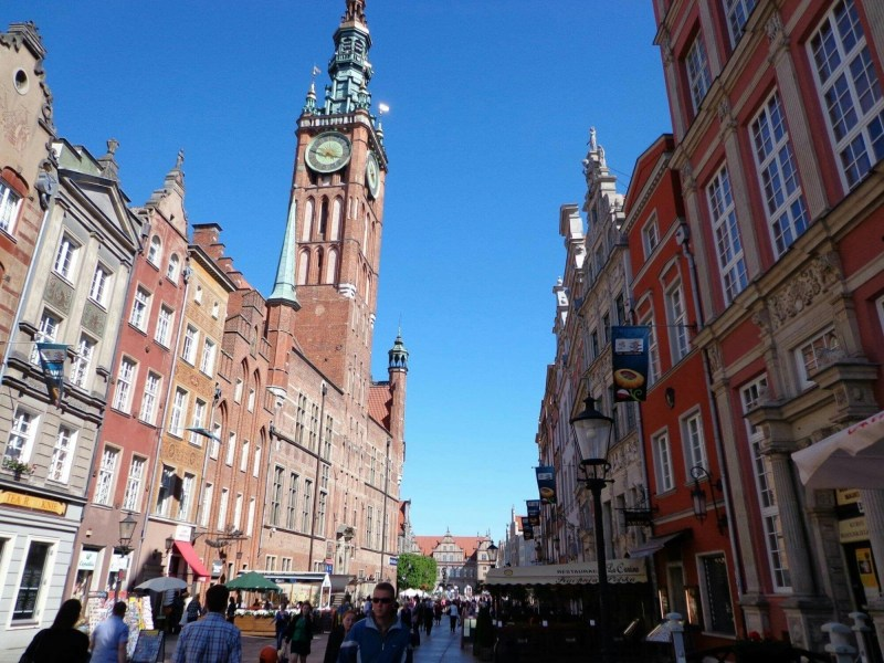 24 hours in Gdansk? Check out the gothic looking town hall.