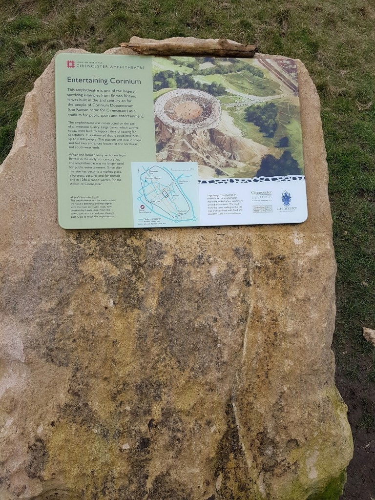 Cirencester Amphitheatre and Querns Wood