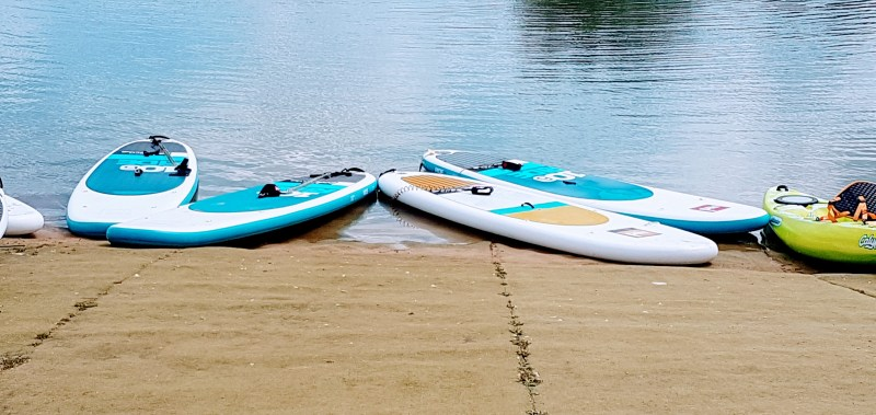 Stand up paddle boarding with Cotswold Water Park