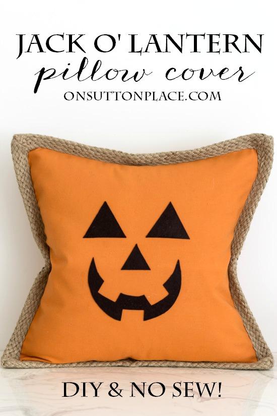 Pumpkin Pillow Cover - On Sutton Place