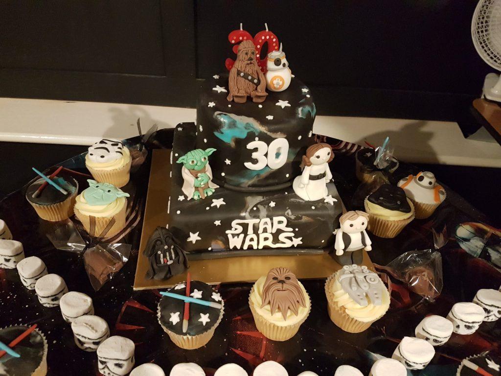 Star Wars birthday cake - 30