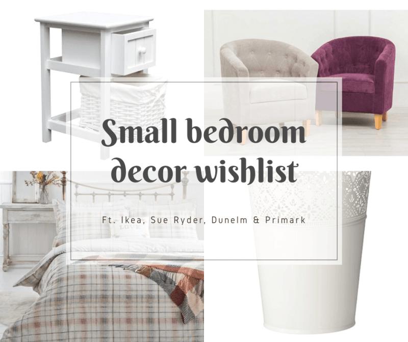 Small Bedroom Decor | Wishlist