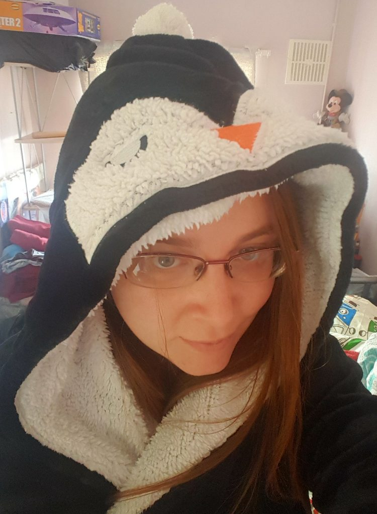 Penguin bathrobe