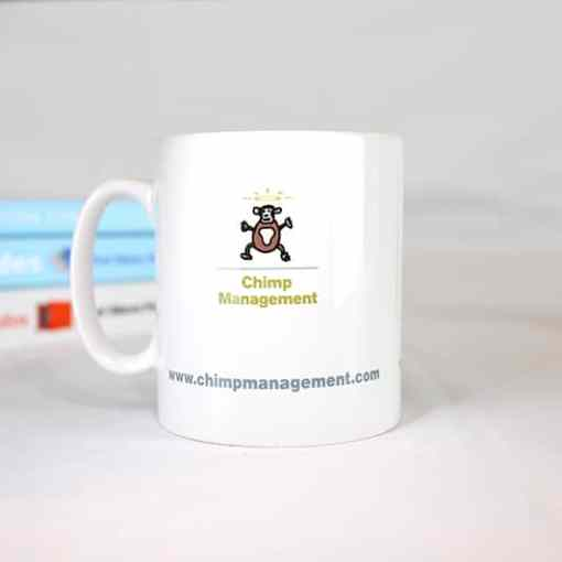 Chimp Paradox Mug rear