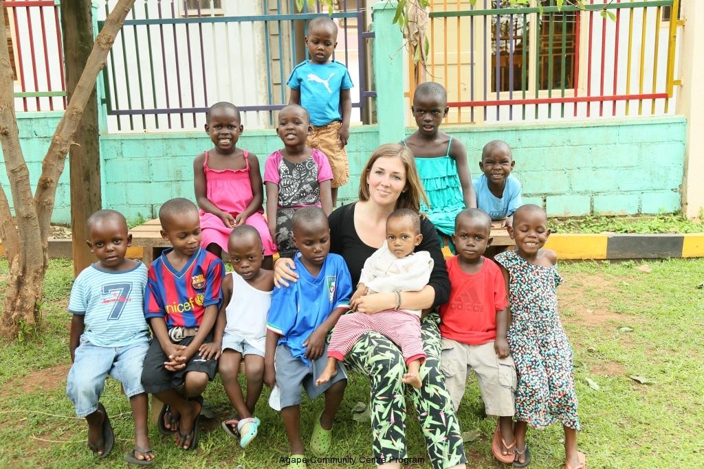 Girls in Kayunga