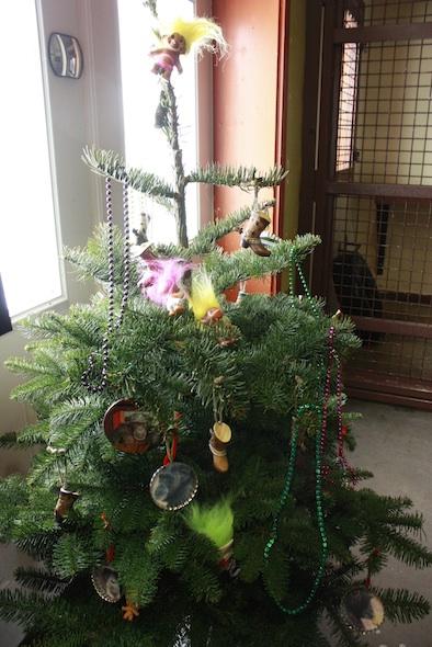 web xmas tree boots trolls ornaments beads