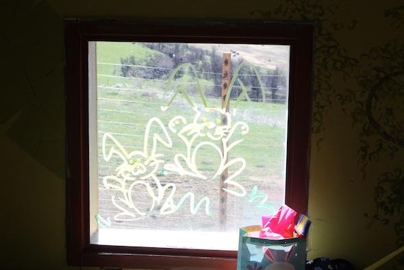 web cute bunnies window paint IMG_1687