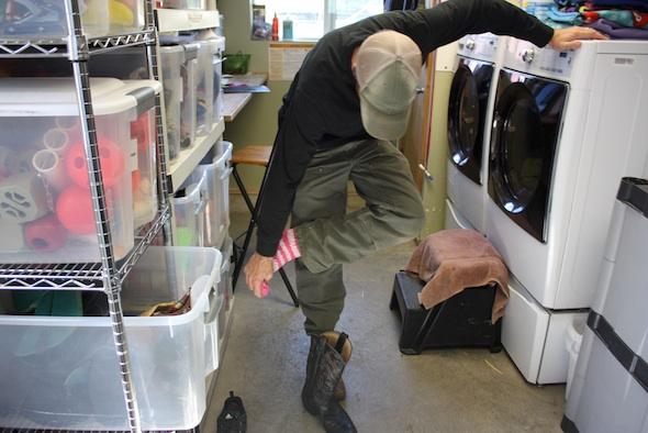 web caregiver jb chimp sock wear boot IMG_2115