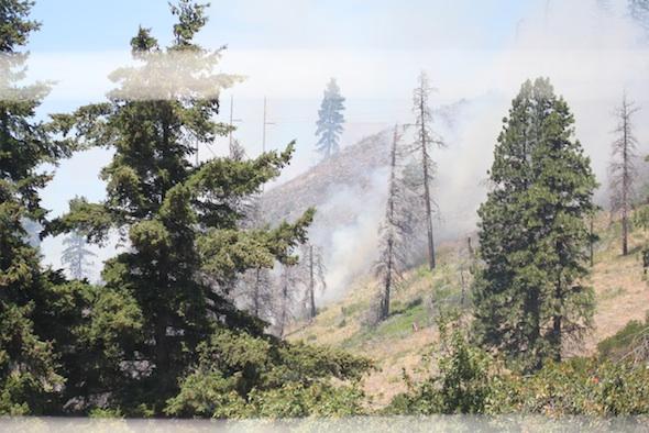 hillside smoke
