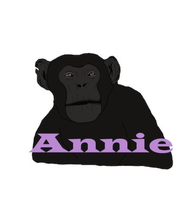 Chimpanzee Digital Art 2