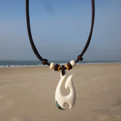 Maori Halskette Hei-Matau Fischhaken