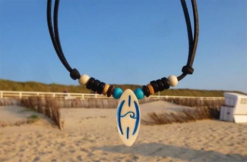 Surferkette Halskette Surfboard Necklace