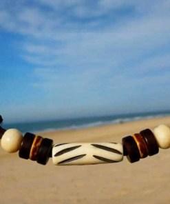 Lederhalskette Matador Freundschaftskette Strandkette