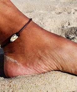 Maori Fußkette Lederfußkette Fußband..