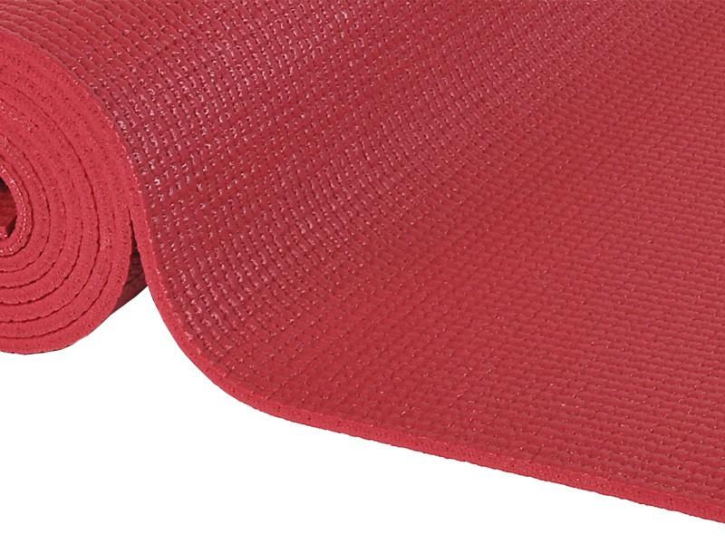 tapis de yoga confort non toxiques 183cm x 61cm x 6mm bordeaux